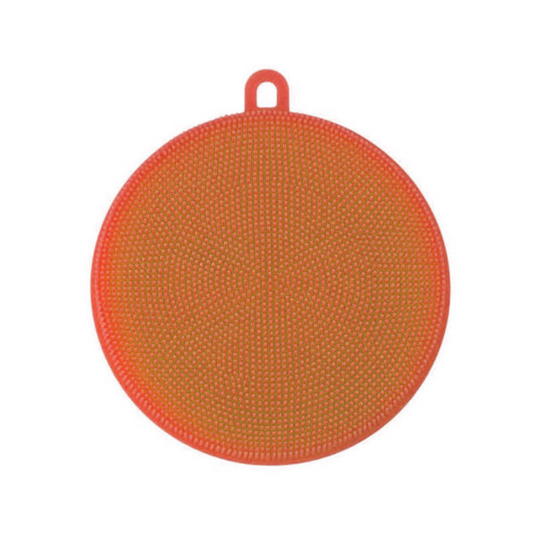 Magic round scrubber | Orange