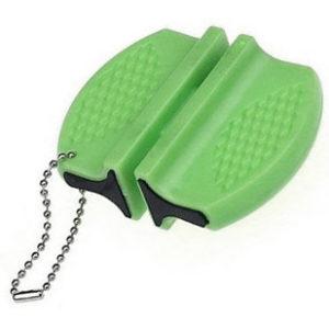Mini aiguiseur de couteaux | Vert