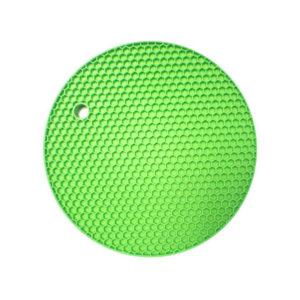 Dessous de plat multifonction en silicone | Vert