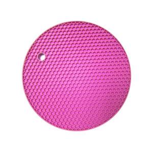Dessous de plat multifonction en silicone | Rose