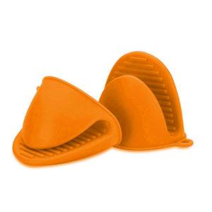 Medium silicone oven mitt | Orange