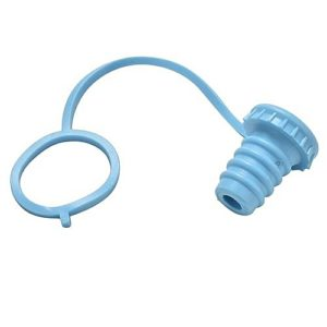 Anti-lost Silicone Bottle Stopper | Blue
