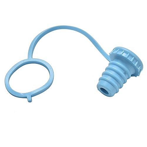 Bouchon de bouteille en silicone avec collier | Bleu