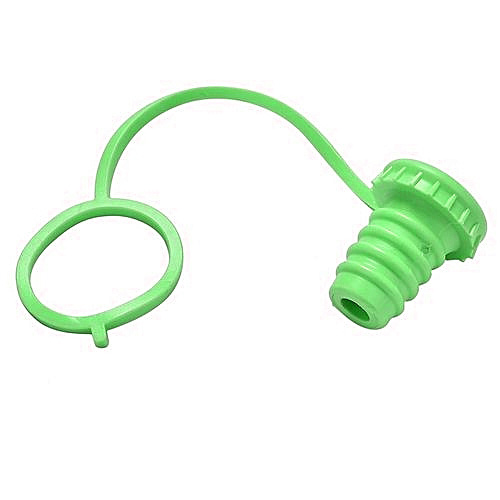 Anti-lost Silicone Bottle Stopper  | Green
