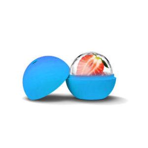 Moule Boule en silicone Bleu 02