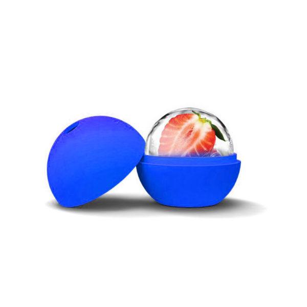 Moule Boule en silicone Bleu foncé 02
