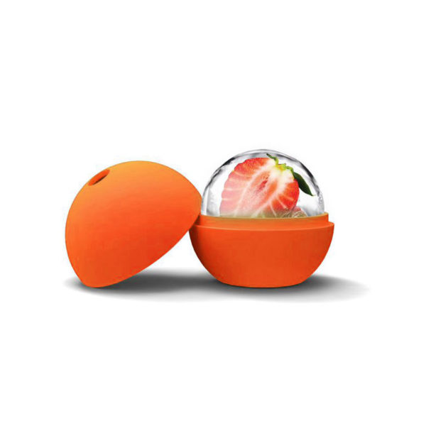 Moule Boule en silicone Orange 02