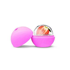 Moule Boule en silicone Rose 02