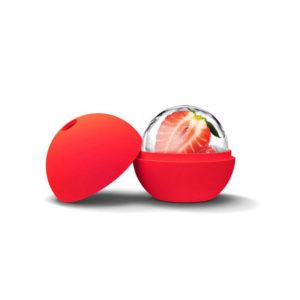 Moule Boule en silicone Rouge 02