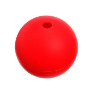 Moule Boule en silicone Rouge 03