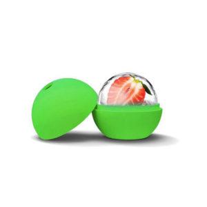 Moule Boule en silicone Vert 02