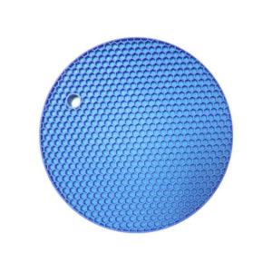 Dessous de plat multifonction en silicone | Bleu