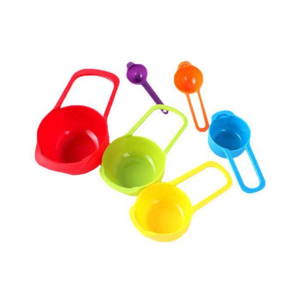 6 Tasses à mesurer colorees 02