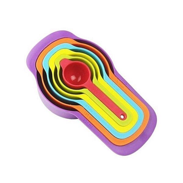 6 tasses à mesurer colorées 1