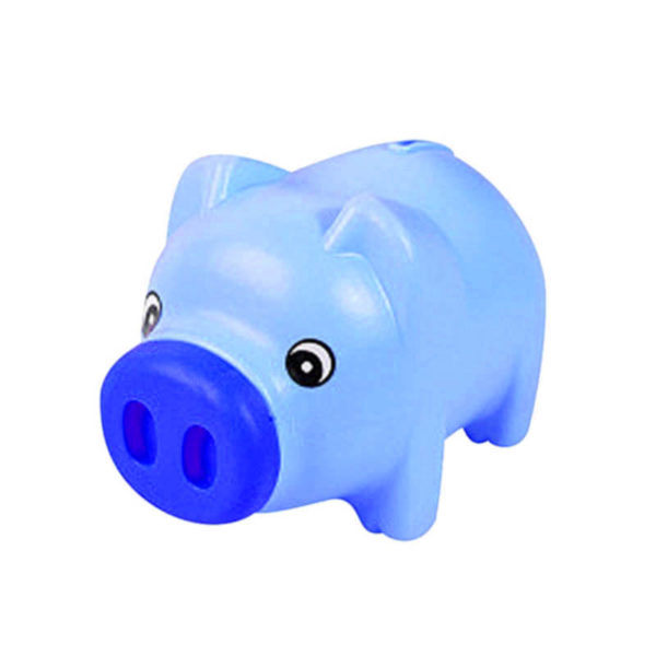Cute piggy bank | Blue