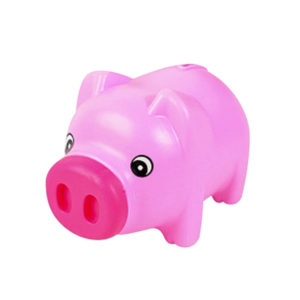 Cute piggy bank | Pink