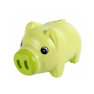 Cute piggy bank | Green