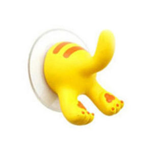 Funny suction hook | Yellow