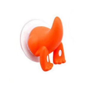 Funny suction hook | Orange