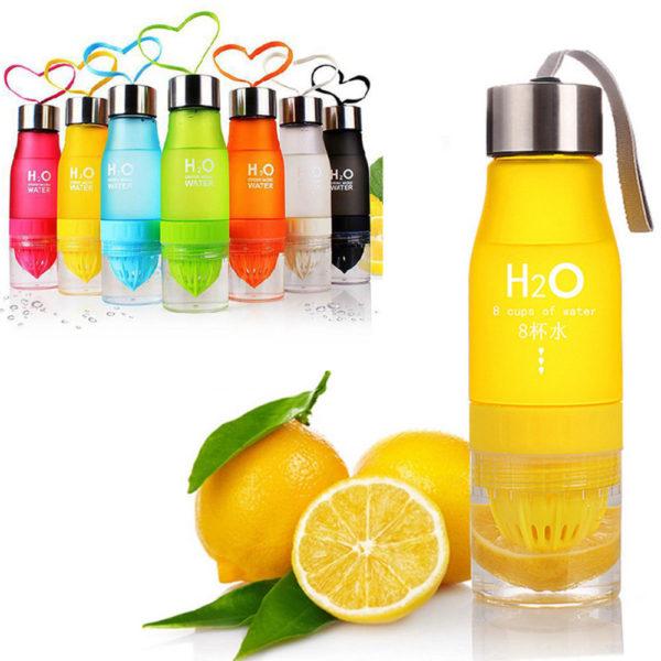 Smart fruit juicer cup | Yellow