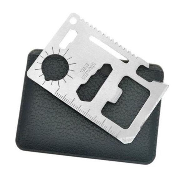Carte futée d'outils de poche   Inox