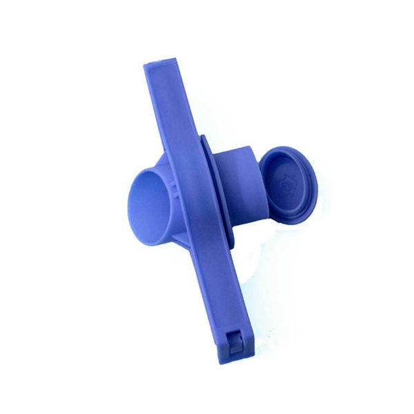 Clips de fermeture de sachet avec bec verseur Bleu 01