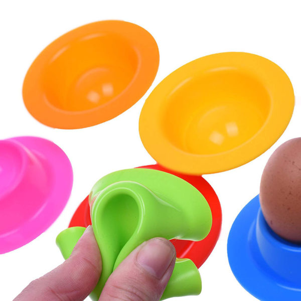 Cute silicone eggcup | Green