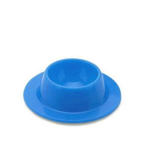 Coquetier ventouse en silicone_Bleu 01