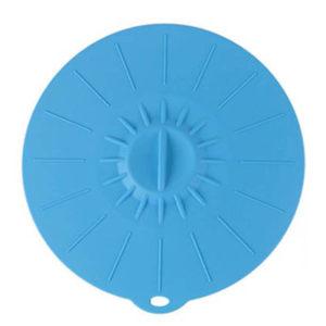 Très grand couvercle en silicone Ø 30cm | Bleu
