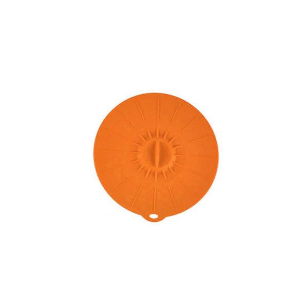 Petit couvercle en silicone Ø 15cm | Orange