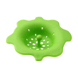 Colorful silicone sink filter | Green