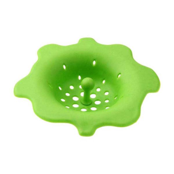 Filtre évier en silicone coloré | Vert