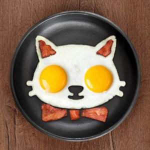 Silicone fried egg mold | Cat
