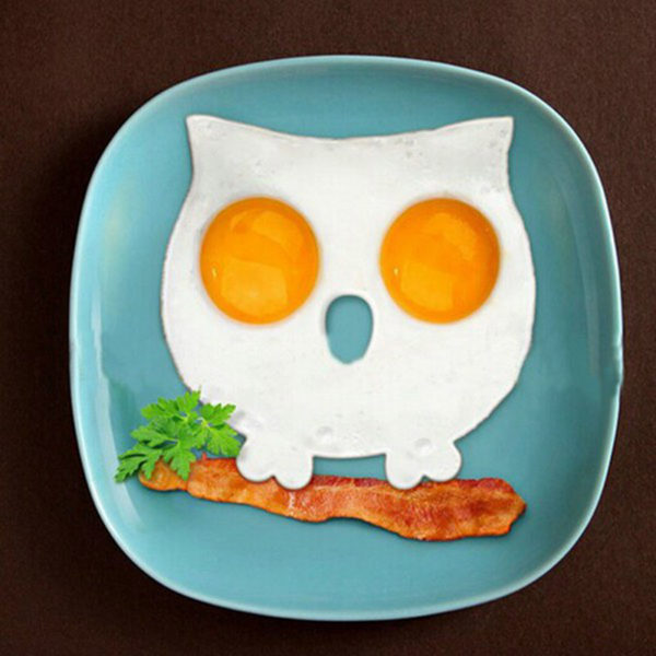 Silicone fried egg mold | Owl