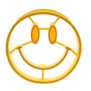 Moule à oeufs en silicone Smiley 01