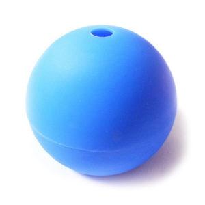 Moule Boule en silicone Bleu-1
