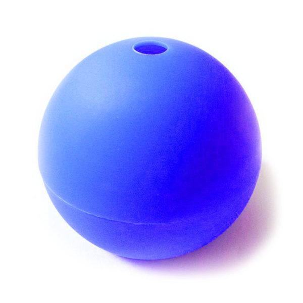 Moule Boule en silicone Bleu foncé-1