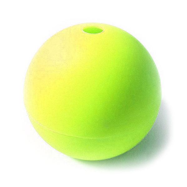 Moule Boule en silicone Jaune-1