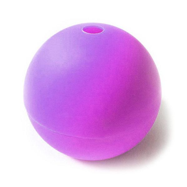 Moule Boule en silicone Violet-1
