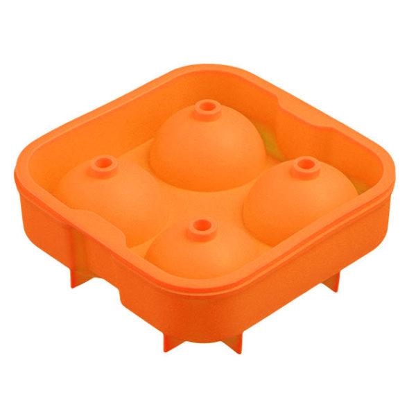 Moule boules de glace coloré_Orange