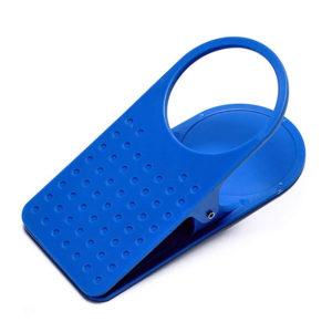 Pince porte-gobellet bleu 01