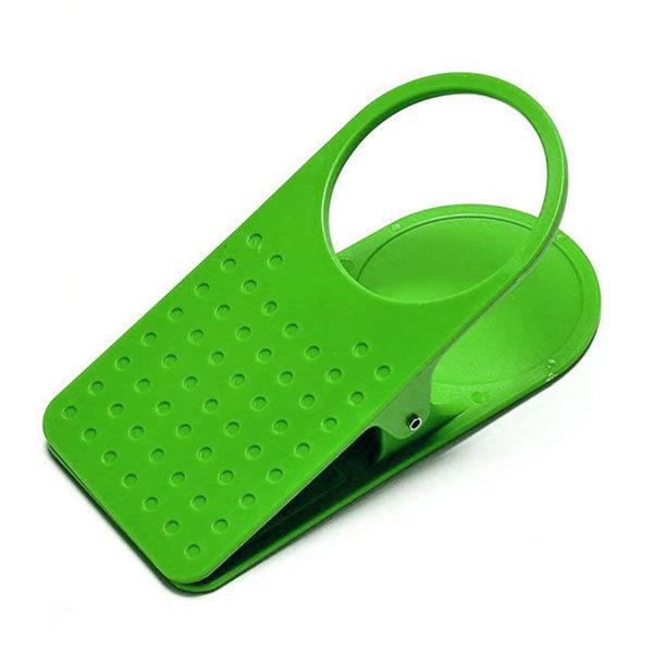 Pince porte-gobellet vert 01