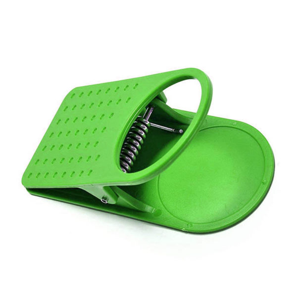Pince porte-gobelet | Vert