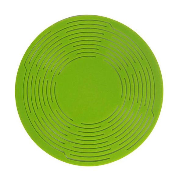 Porte-bouteille en silicone Vert 01