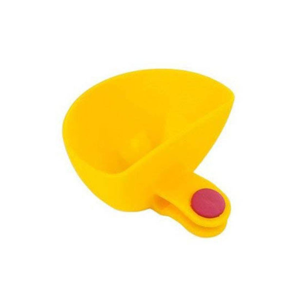 Colored dip clips | Yellow