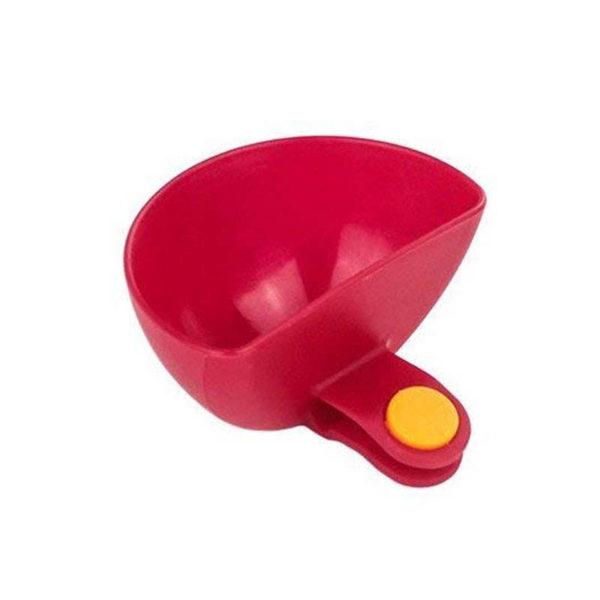 Récipients pour sauce à clipser Rouge 01