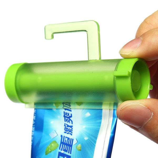Rouleau de dentifrice | Vert