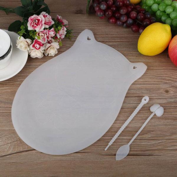Silicone kneading dough bag | White