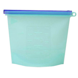 Durable Silicone Storage Bag | Blue