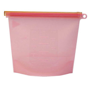 Durable Silicone Storage Bag | Red